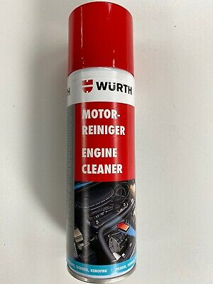 *****1 X 300ml WÜRTH ENGINE CLEANER DEGREASER Gunk*****