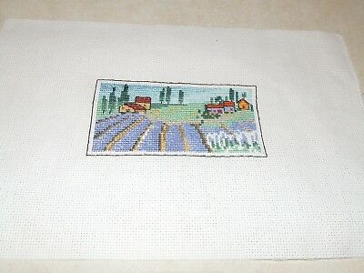 Completed Cross Stitch - Small Scene