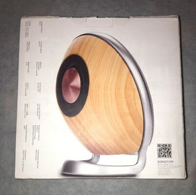 SOMOTOR  S623 Wireless Bluetooth Speaker Wood grain Bluetooth CSR4.0
