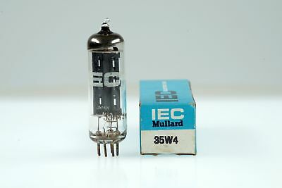 Vintage IEC Mullard Japan 35W4 / HY90 Half Wave Rectifier Mini 7 Pin Tube Valve