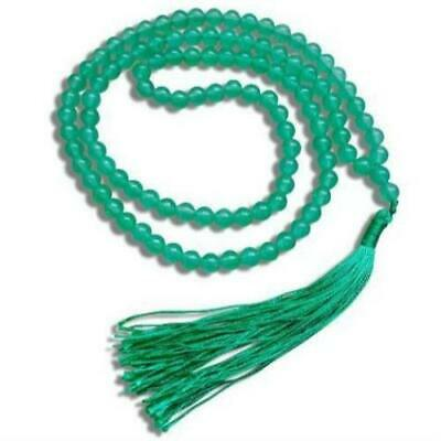 Natural Gemstone Green Aventurine Stone Mala Necklace 108 Beads 6 mm bracelet