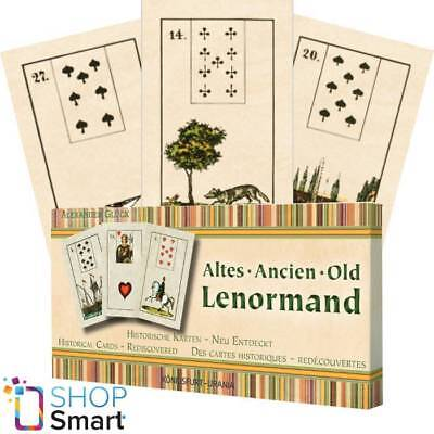 Old Lenormand Deck Cards Altes Ancien Historical Cards Alexander Gluck Agm New