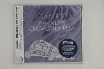 CD Brian Auger's Oblivion Closer To It TFCK87537 FLAVOR Japan OBI PROMO SEALED