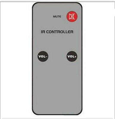 Custom Audio 50-8393 Replacement Ir Remote Control For 50-8394 Volume Control