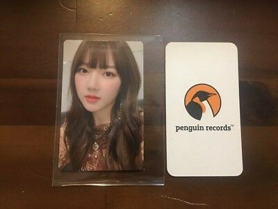 Gfriend - Vol.2 Time For Us Limited Edition Yerin Photo Card - 2