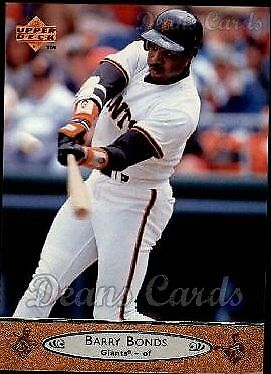 1996 Upper Deck #195 Barry Bonds Giants NM/MT