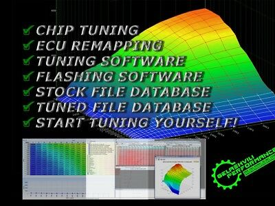 CHIP TUNING FILE Database| Stage 1 + Stage 2 | ECU Remapping | Tuned ECU  Files!