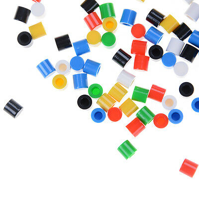 100pcs/lot  Plastic Cap Hat for 6*6mm Tactile Push Button Switch Lid Cover IU