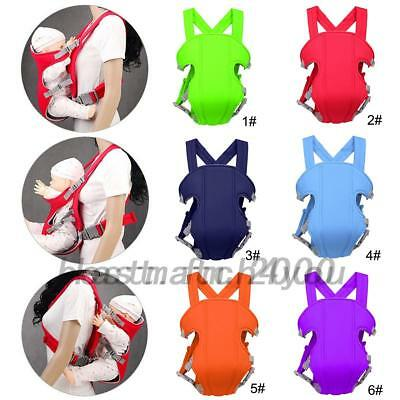 Adjustable Infant Baby Carrier Wrap Sling Newborn Backpack Breathable 0-3Years b