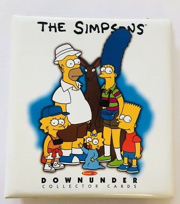 Simpsons Downunder Cards In Binder - Duffs, Homer As, SD BC1, Case Card, Promo