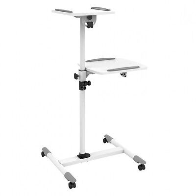 Techly Trolley Universal for Notebook / Video projector, White