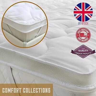 Mattress Topper Microfiber Thickness 5cm Hollow Fibre Filling Anti Allergic