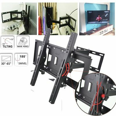 "Support TV mural orientable et inclinable 32"" - 55"" 40 42 46 50 52 55 60 165cm"