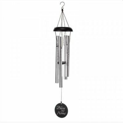 Flamboya Garden Bless Our Home Decorative Ornament Wind Chime