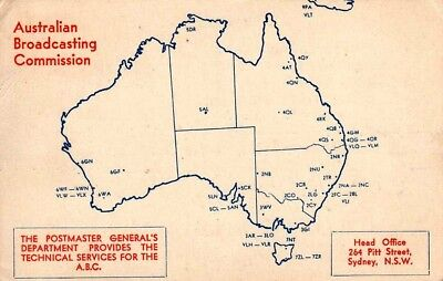 1952 MWBC QSL Card - 5CL Australian Broadcasting Commission, Adelaide
