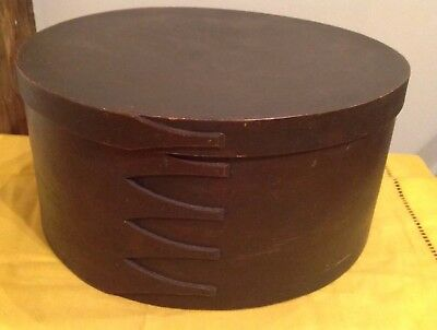 Large Fingered Shaker Style Covered Pantry Box Bucket Round 12""