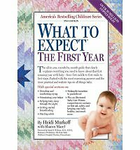 What to Expect the First Year by Murkoff, Heidi -ExLibrary