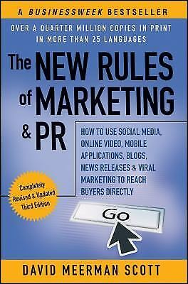 New Rules of Marketing and PR : How to Use Social Media, Online Video,-ExLibrary