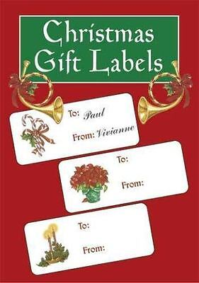 Christmas Gift Labels Paperback Darcy May