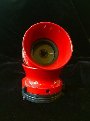 Red Color Aluminium NAB Hub adapters for Studer Revox  Akai MADE IN USA
