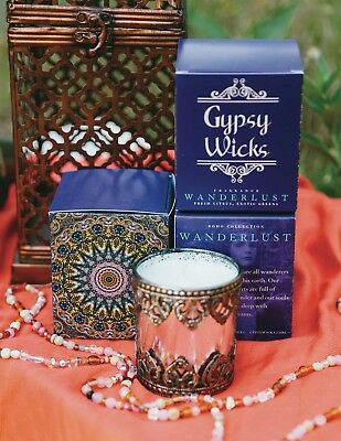 Victorian Trading Co Gypsy Wicks Wanderlust Candle