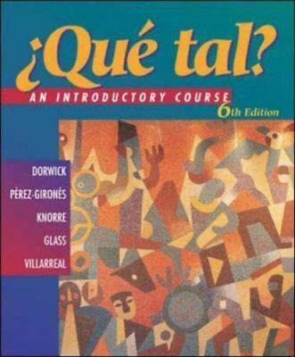 Que Tal? : An Introductory Course-ExLibrary