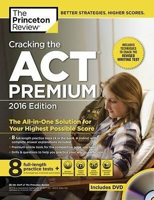 Cracking the ACT Premium Edition with DVD 2016-ExL