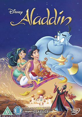 Aladdin (Disney) (UK IMPORT) DVD NEW