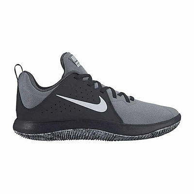 buy online fd0c6 4a3fd Nike Fly By Low Mens Basketball Shoes Lace-up Gray Black Size 10