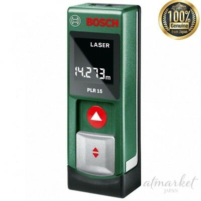 BOSCH laser range finder PLR15 Green genuine from JAPAN NEW