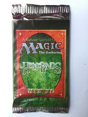 MAGIC the GATHERING - HOMELANDS - LIMITED BOOSTER -1995 - ISBN 1-880992-35-3