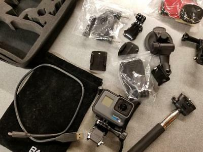 GoPro HERO6 Waterproof Digital Action Camera Touch Screen 4K HD Outfit Kit