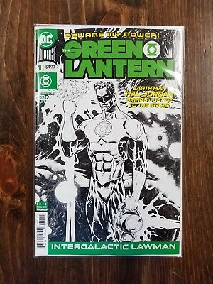 Green Lantern #1 Midnight Release Variant Grant Morrision 2018 Series Dc Comics