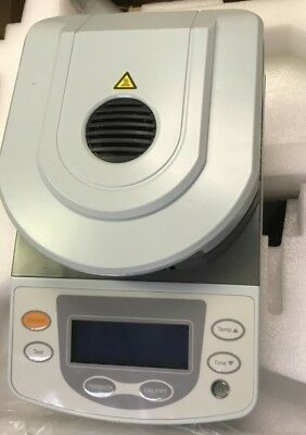 Lab Moisture Analyzer Tester W/ Halogen Heating DSH-50A-5 50g Capacity 5mg 110V