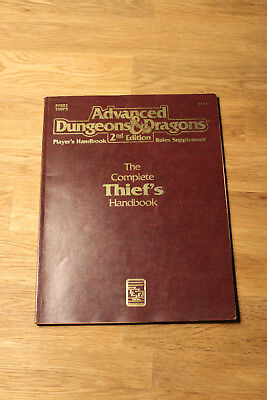 PHBR2 The Complete Thief's Handbook (AD&D 2nd ed)