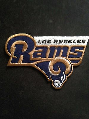 Los Angeles Rams/ NFL Logo Jersey Patches Coliseum Iron On Sew Shirt Bag Jacket