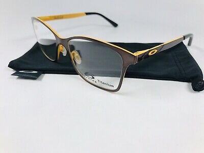 6ea7565ed3 New Oakley OX5097-0353 Brushed Chocolate VALIDATE Eyeglasses 53mm with Bag