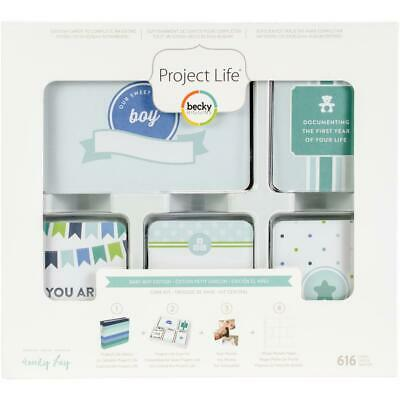 American Crafts Becky Higgins Project Life Baby Boy Edition Collection Core Kit