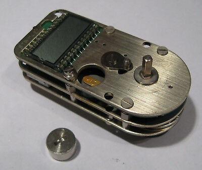 Running TMI STB 114E Time Lock safe delay movement clock