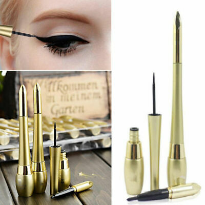 1PC Black Waterproof Lasting Eyeliner Liquid Eye Liner Pencil Pen Beauty Makeup