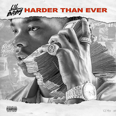 """Lil Baby - """"HARDER THAN EVER"""" (2018 Official Mixtape) CD Album Rap NEW SEALED"""