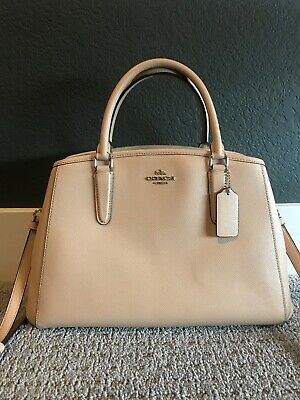 COACH LARGE HANDBAGS new with tags patent leather pro pat carrie ... bab43005d1e5f