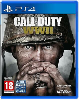 Call of Duty: WWII COD (PS4 Playstation 4) World War 2