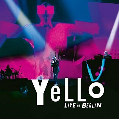Yello-Live In Berlin (UK IMPORT) CD NEW