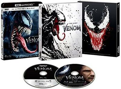 New Venom 4K UHD ULTRA HD & Blu-ray First Limited Edition Japan UHBL-81443