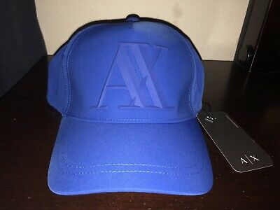 68554dffe02 NEW ARMANI EXCHANGE AX Mens RUBBER LOGO CAP HAT -  60.00
