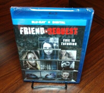 Friend Request (Blu-ray+HD Digital,2018)NEW-Free Shipping w/Tracking