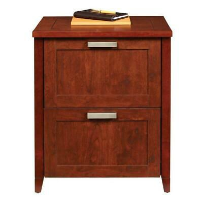 Magellan 2 Drawer File Cabinet - Auburn Brown