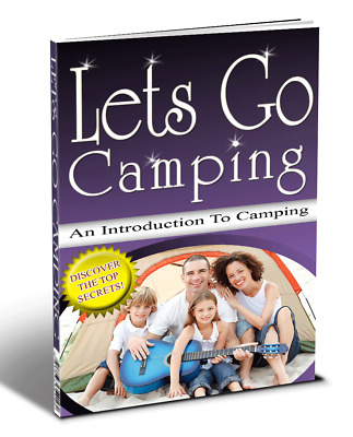 Let's Go Camping PDF ebook with Full Master Resell Rights Free Shipping