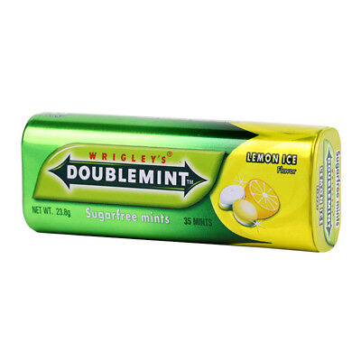 Wrigley/'s Chewing Gum Doublemint Blueberry Spear Fruit 1 lot.=4 Pack = 20 Sticks